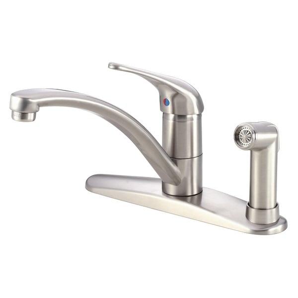 shop danze d405112 kitchen faucet includes side spray from the rh overstock com danze kitchen faucets replacement parts danze kitchen faucet warranty