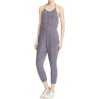 Jack Womens Jumpsuit Cuffed Ankle Printed