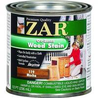 ZAR 11906 Interior Oil-Based Wood Stain, Mocha, 1/2 Pint
