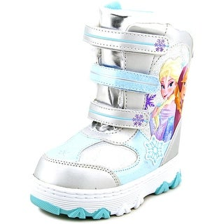 Disney Frozen Anna & Elsa Winter Boot Round Toe Synthetic Winter Boot