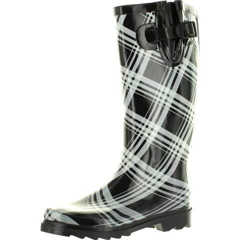 Static Footwear Womens Raindrops Fashion Rain Boots