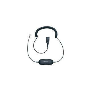 Jabra GN1216 QD connection Cord w/ Microphone Volume Control Cord for Avaya Systems (Coiled)