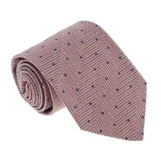 Missoni U4799 Pink/Purple Pin Dot 100% Silk Tie - 60-3