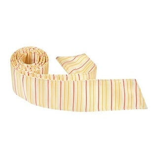 Y2 HT - 42 in. Child Matching Hair Tie - Yellow With Stripes