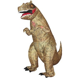 Dinosaur T-Rex Inflatable Kids Costume Fancy Dress, One Size