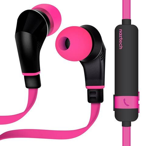 Naztech NX80 Wireless Bluetooth Headset for Universal/Smart Phones/Computer - 6 x 4 x 2