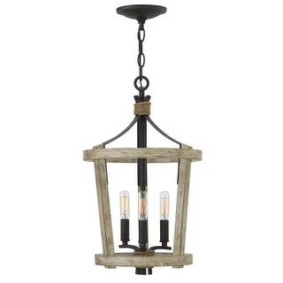 Fredrick Ramond FR45203 3 Light Cage Chandelier from the Sherwood Collection