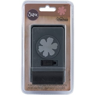 Sizzix Large Paper Punch By Tim Holtz-Tattered Flower