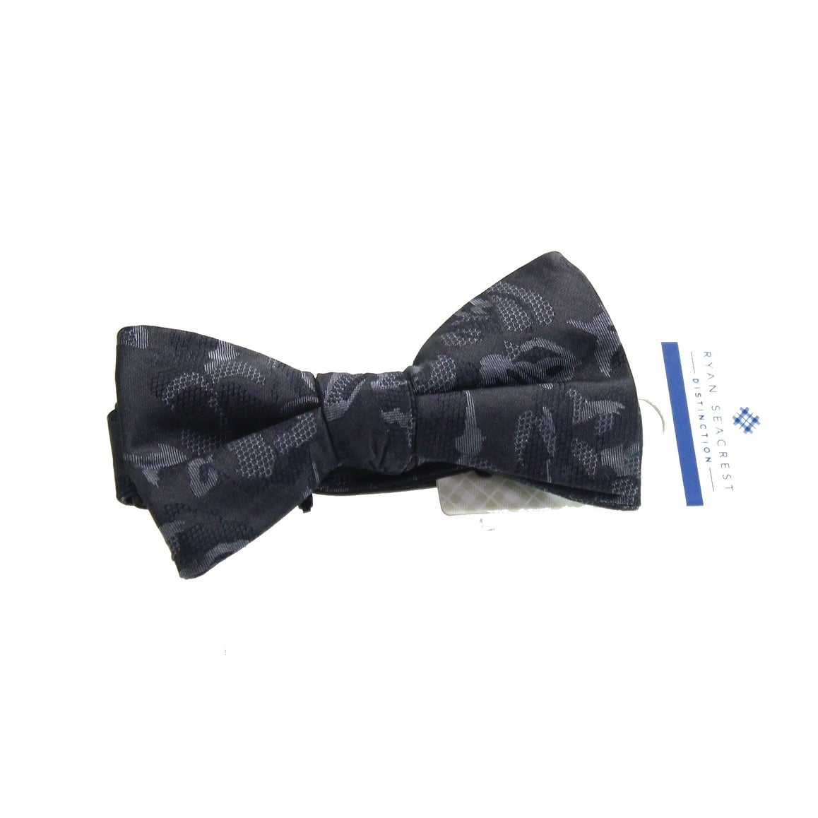Ryan Seacrest Distinction Mens Silk Pindot Bow Tie