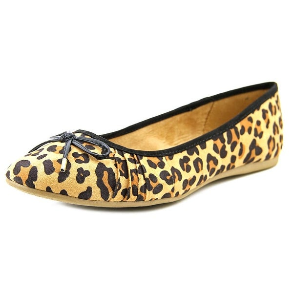 Style & Co Addia Round Toe Leather Flats