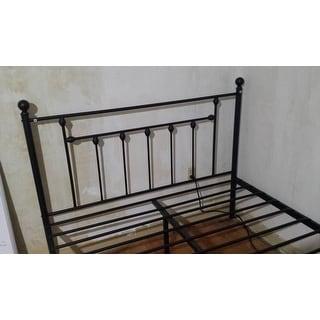 Shop Vecelo Bed Frames Victorian Metal Platform Beds Box