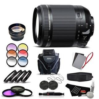 Tamron 18-200 f/3.5-6.3 Di II VC for Nikon International Version (No Warranty) Pro Kit - Black