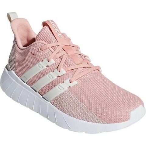 adidas Women's Questar Flow Running Shoe Dust Pink/FTWR White/Raw White