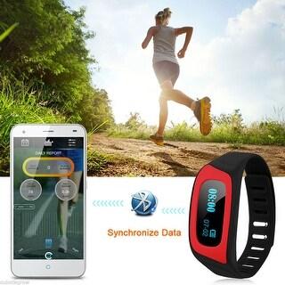 Health Wristband Bluetooth Smart Watch Sleep Monitor Call Reminder Wrist band
