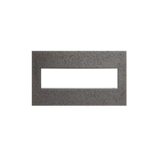 Legrand AWM4GHFFE1 adorne Hubbardton Forge 4 Gang Hand-Forged Metal Wall Plate - 8.9 Inches Wide