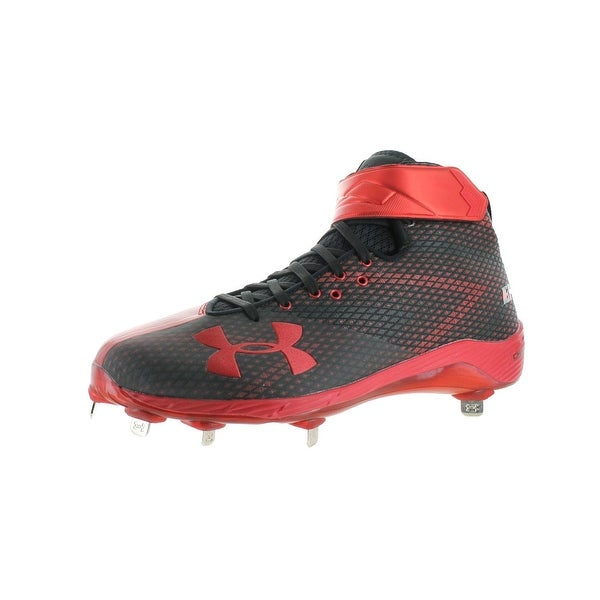 Under Armour Mens Harper One Mid ST Cleats Baseball Charged
