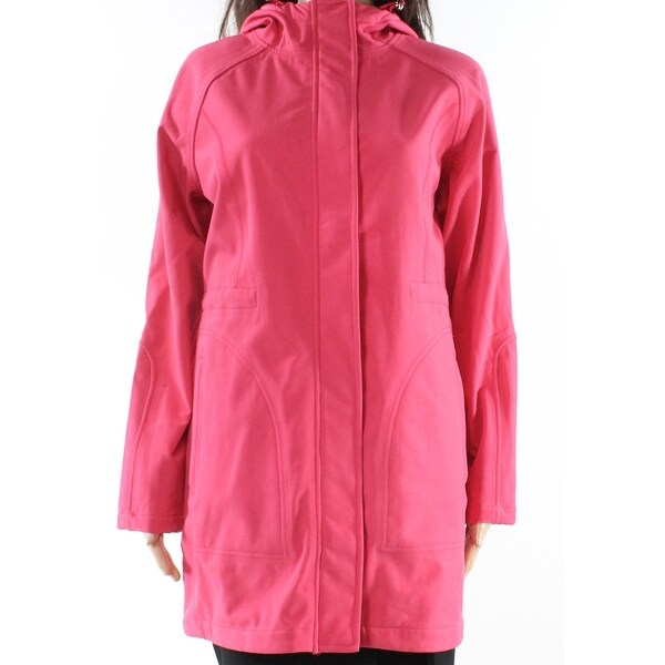 32c7e700158 Joules Pink Womens 6 Hooded Full Zipper Rain Fleece Lined Jacket