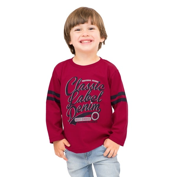 Pulla Bulla Toddler Boy Long Sleeve Graphic Tee
