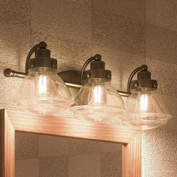 Transitional Bathroom Vanity Light