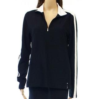 Lauren Active Ralph Lauren NEW Black White Women's Large L Jacket