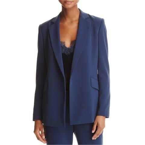 Dylan Gray Womens Crepe Blazer Jacket