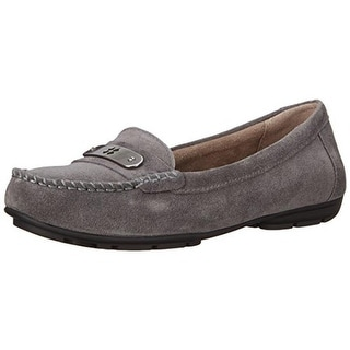 Naturalizer Womens Kaster Slip On Loafers - 8.5 wide (c,d,w)