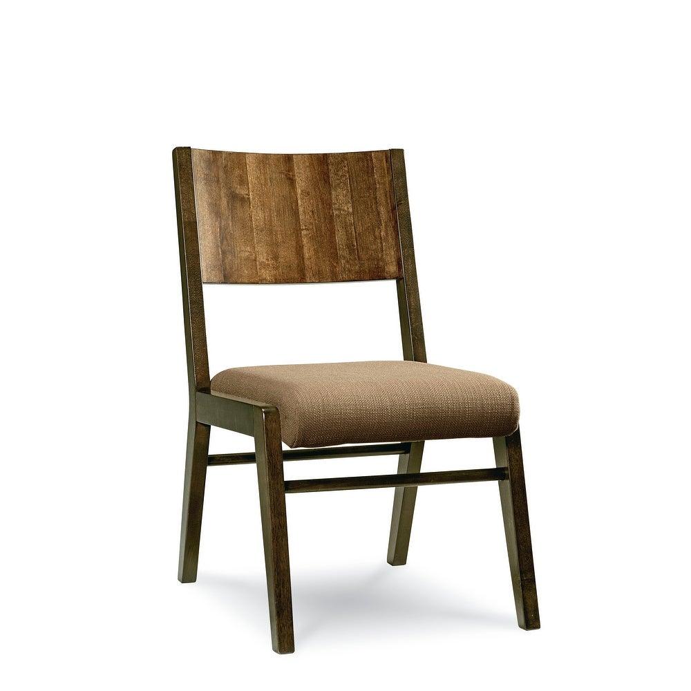 Kateri Hazelnut Contemporary Armless Side Chair
