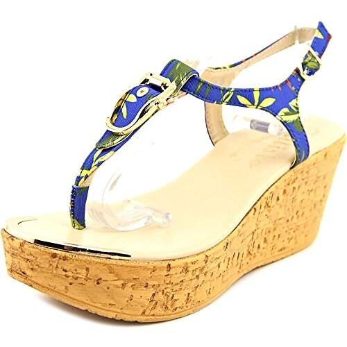 Callisto Womens Barton Split Toe Casual T-Strap Sandals