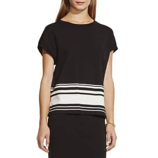 Vince Camuto Womens Pullover Sweater Striped Cap Sleeves https://ak1.ostkcdn.com/images/products/is/images/direct/c1c8f8cc2437756d4f4bfb1c24340eca3a626859/Vince-Camuto-Womens-Pullover-Sweater-Striped-Cap-Sleeves.jpg?impolicy=medium
