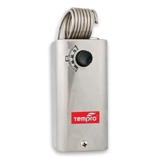 Tempro Line Voltage -30 To 110 Degree F Heat & Cool SPDT Thermostat