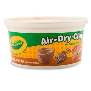 Crayola Air Dry Clay 2 1/2Lb Terra