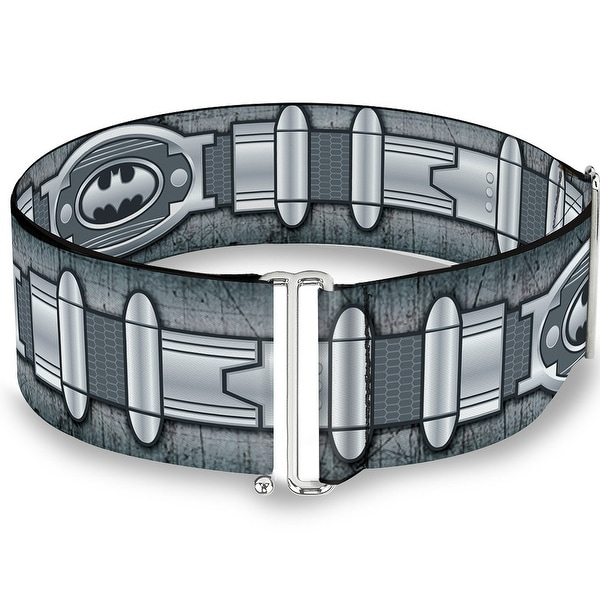 Batman Utility Belt Grays Cinch Waist Belt ONE SIZE