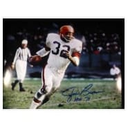 Signed Brown Jim Cleveland Browns 11x14 autographed