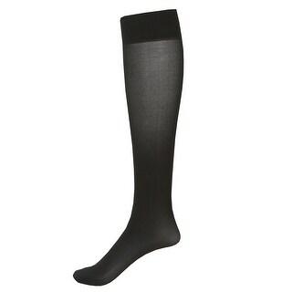 Women's Mild Compression 2 Pair Knee Highs - Wide Calf (Option: Purple)