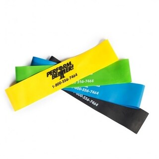 "Perform Better Mini Band Resistance Loop Exercise Bands 10"" by 2"""