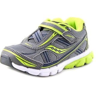 Saucony Boys Baby Ride EW Round Toe Synthetic Sneakers