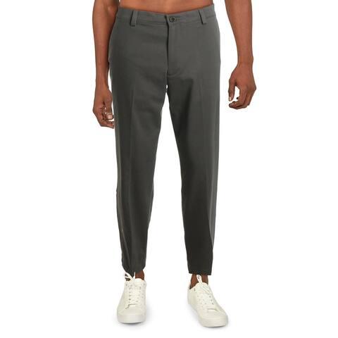 Dockers Mens Dress Pants Comfort Waist Classic Fit - Taupe