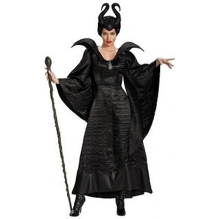 Maleficent Black Christening Gown Deluxe