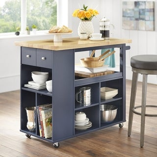 Link to angelo:HOME Boston Kitchen Island/Cart Similar Items in Kitchen Carts