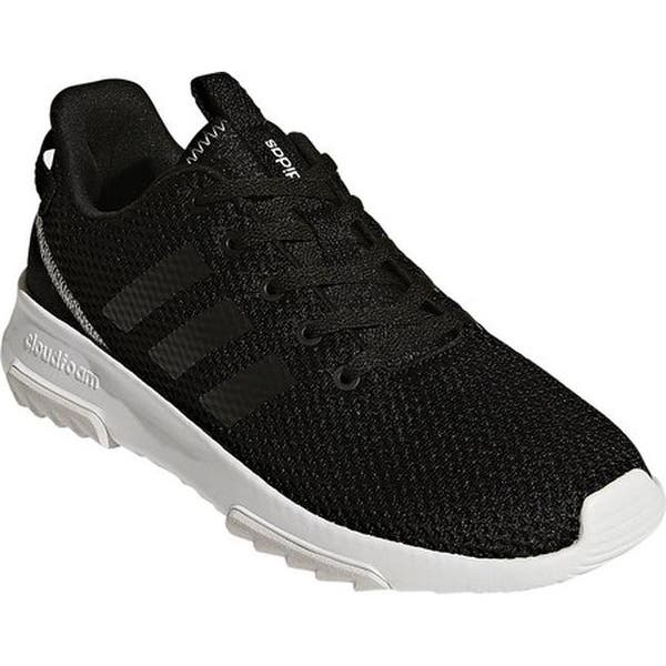 finest selection 1fc48 98e2d adidas Women s NEO Cloudfoam Racer TR Running Shoe Core Black Core  Black Grey One F17