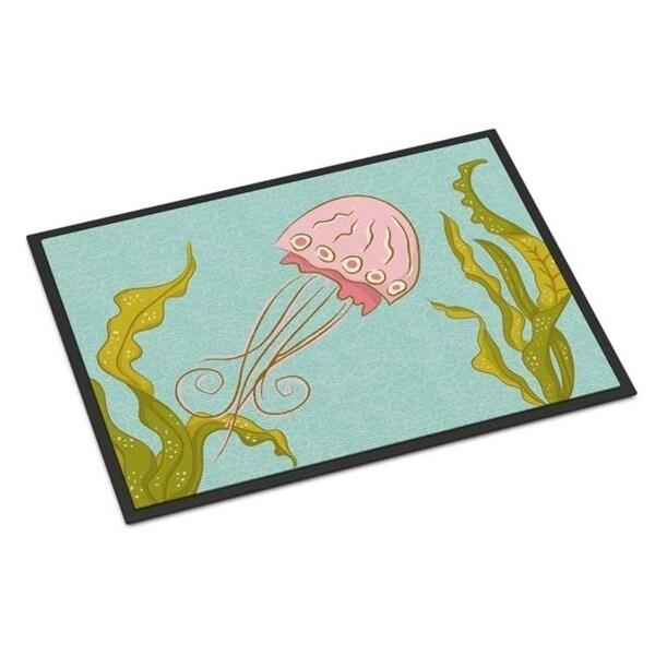 Carolines Treasures BB8546JMAT Jelly Fish Indoor Or Outdoor Mat - 24 x 36 in.