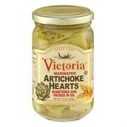Victoria Marinated Artichoke - Case of 12 - 12 oz.