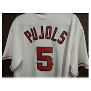 Signed Pujols Albert Los Angeles Angels Los Angeles Angels Replica Jersey Size XL autographed