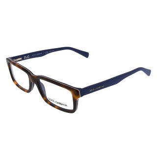 Dolce&Gabbana DG3148 2706 Havana/Blue Rectangular Opticals - 53-16-140