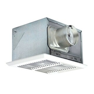 Air King FRAK50 50 CFM 0.5 Sone Fire and Energy Star Rated Exhaust Fan - White - n/a