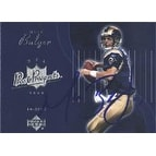 Marc Bulger St Louis Rams 2003 Upper Deck Pros and Prospects Autographed Card Awesome Autograph T