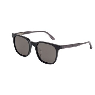 Bv0022Sa 001 Black Frame Sunglasses With Grey Polarized Lenses