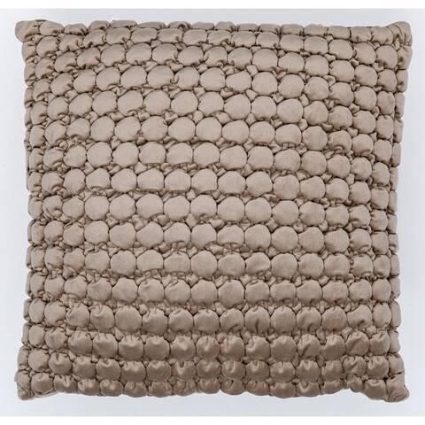 Thalasa Velvet Ruched Pillow