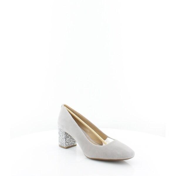 fe49e0031c1 Shop Michael Kors Cher Flex Mid Pump Women s Heels Pearl Grey - Free ...
