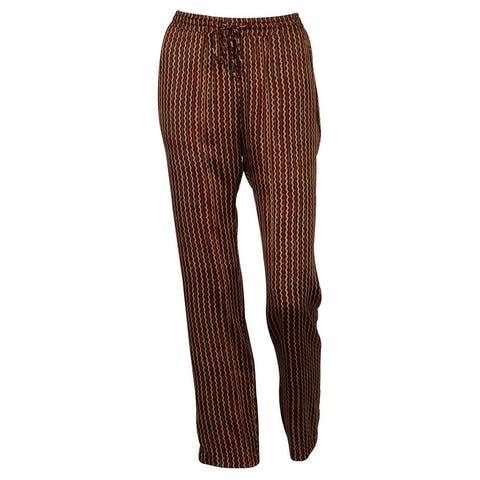 2935791227954 SALE. Lauren by Ralph Lauren Women's Polyester Fabric Patterned Print Pants  - Multi